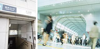 東京メトロ 日比谷線 「入谷駅」出口3・4から徒歩1分。