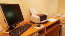 印刷無料のロビーパソコン