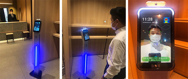 ―札幌市内ホテル初―「ベッセルホテルカンパーナすすきの」7月1日(水)より非接触温度センサー搭載システム導入