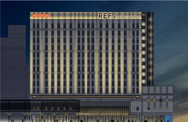 ~松山市駅に新たなランドマークとなるホテルが誕生~「レフ松山市駅 by ベッセルホテルズ」 2021年12月開業予定