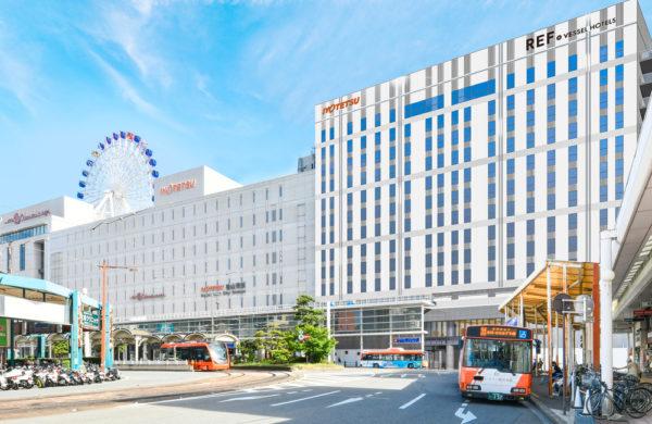 レフ松山市駅 by ベッセルホテルズ-2021年8月30日(月)より宿泊予約開始-